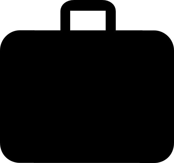 Images of black suitcase. Luggage clipart outline