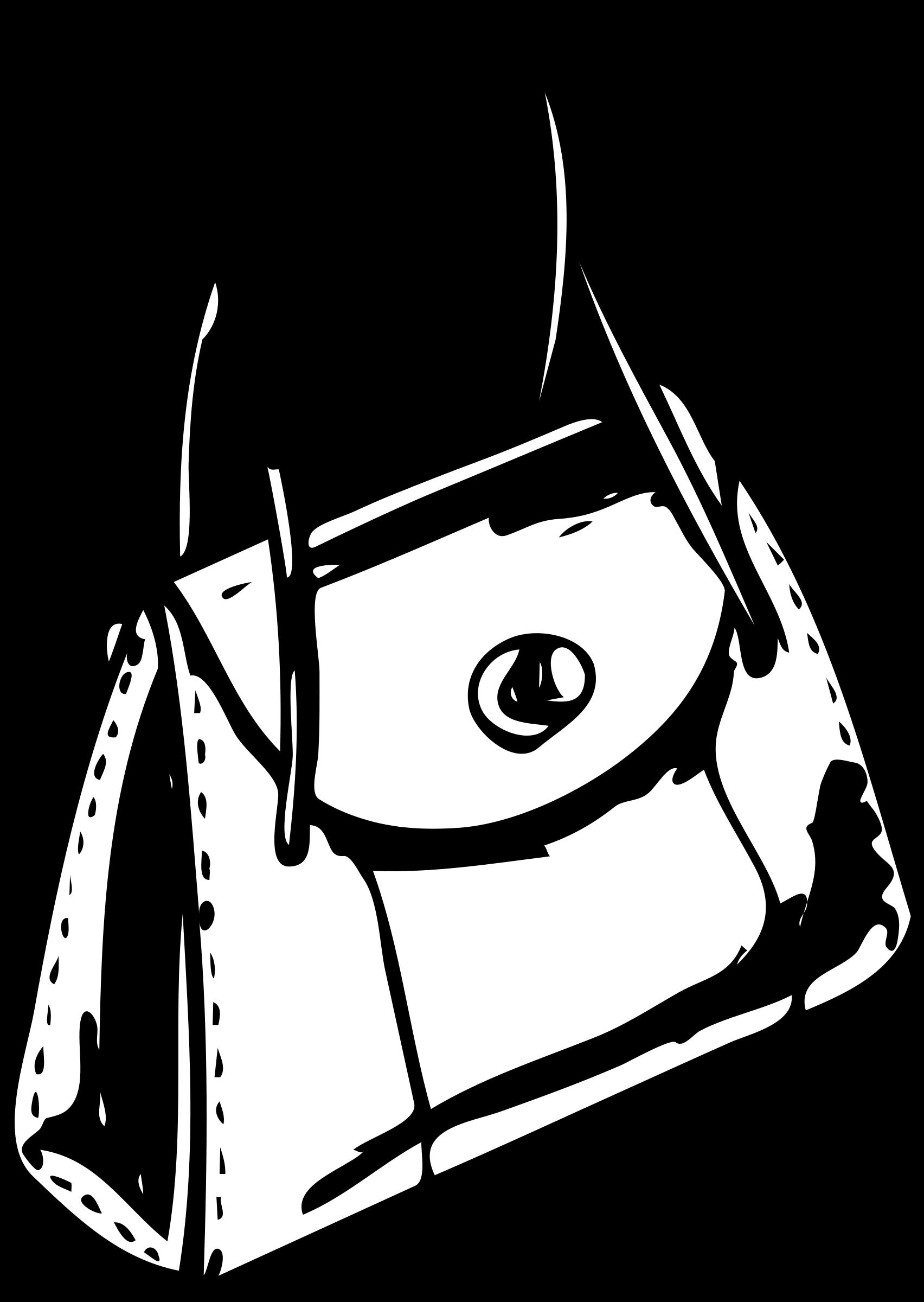Architetto borsetta big image. Luggage clipart outline