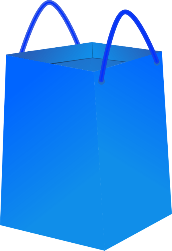 Red shopping bag clip. Luggage clipart outline