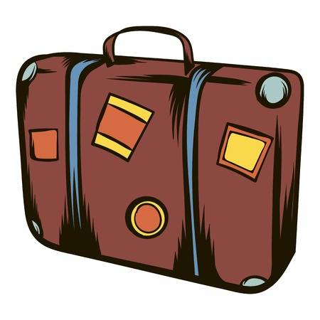 Free download clip art. Luggage clipart overnight bag