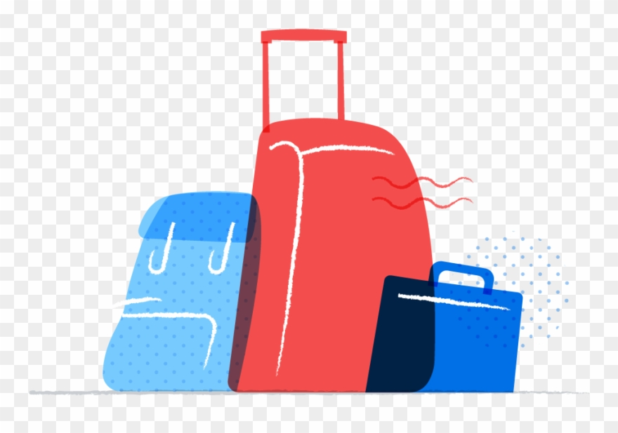 Library . Luggage clipart overnight bag