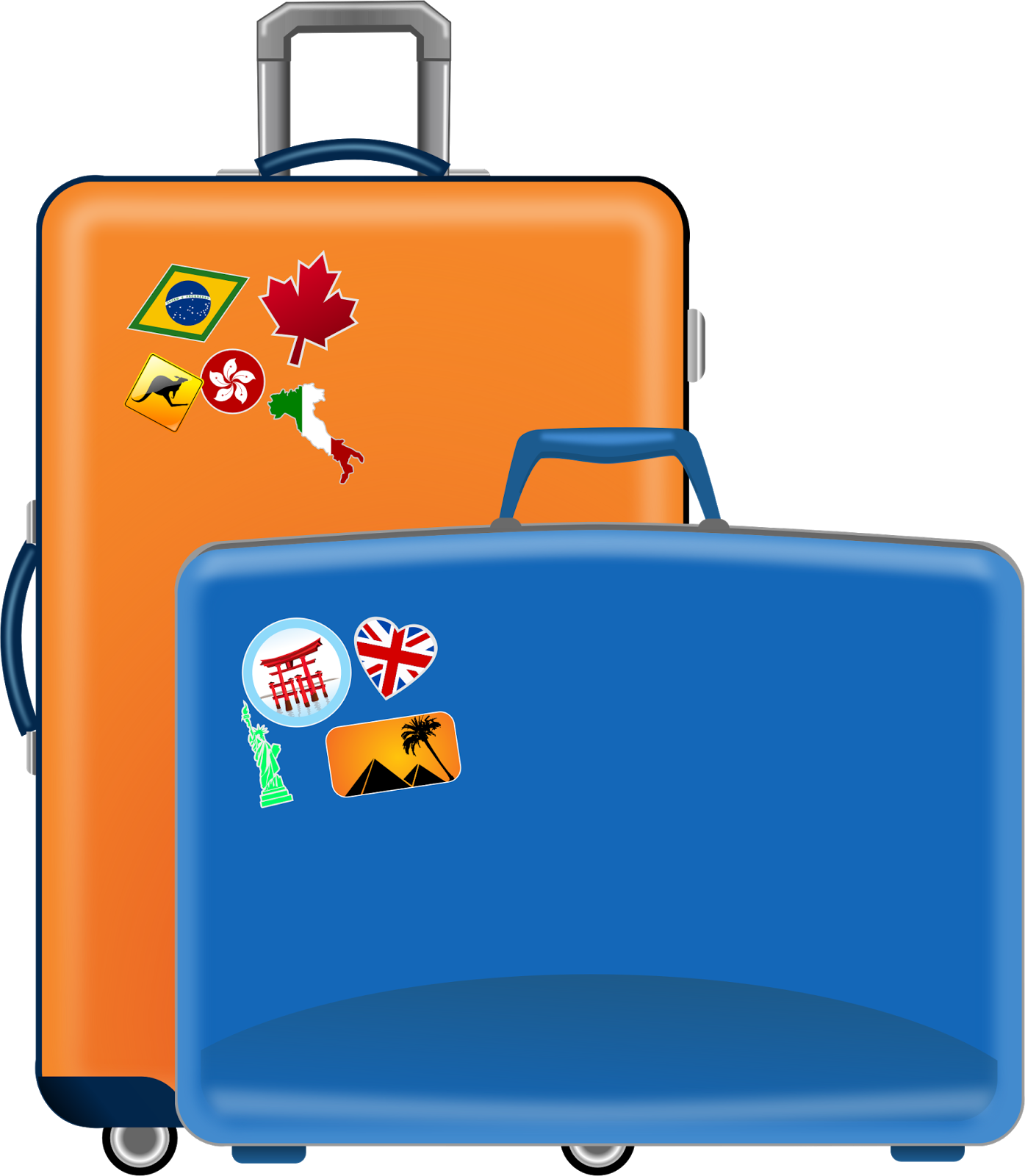 Luggage clipart pack suitcase. Sister christensen s mission