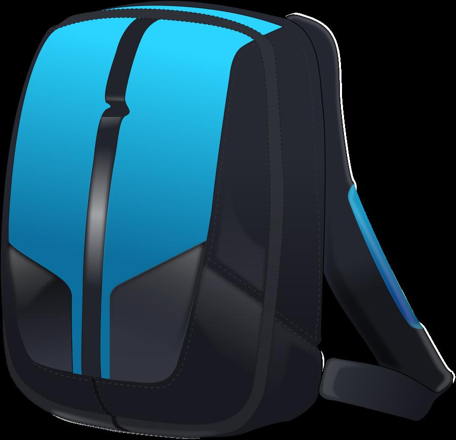 Bag mochila free on. Luggage clipart person
