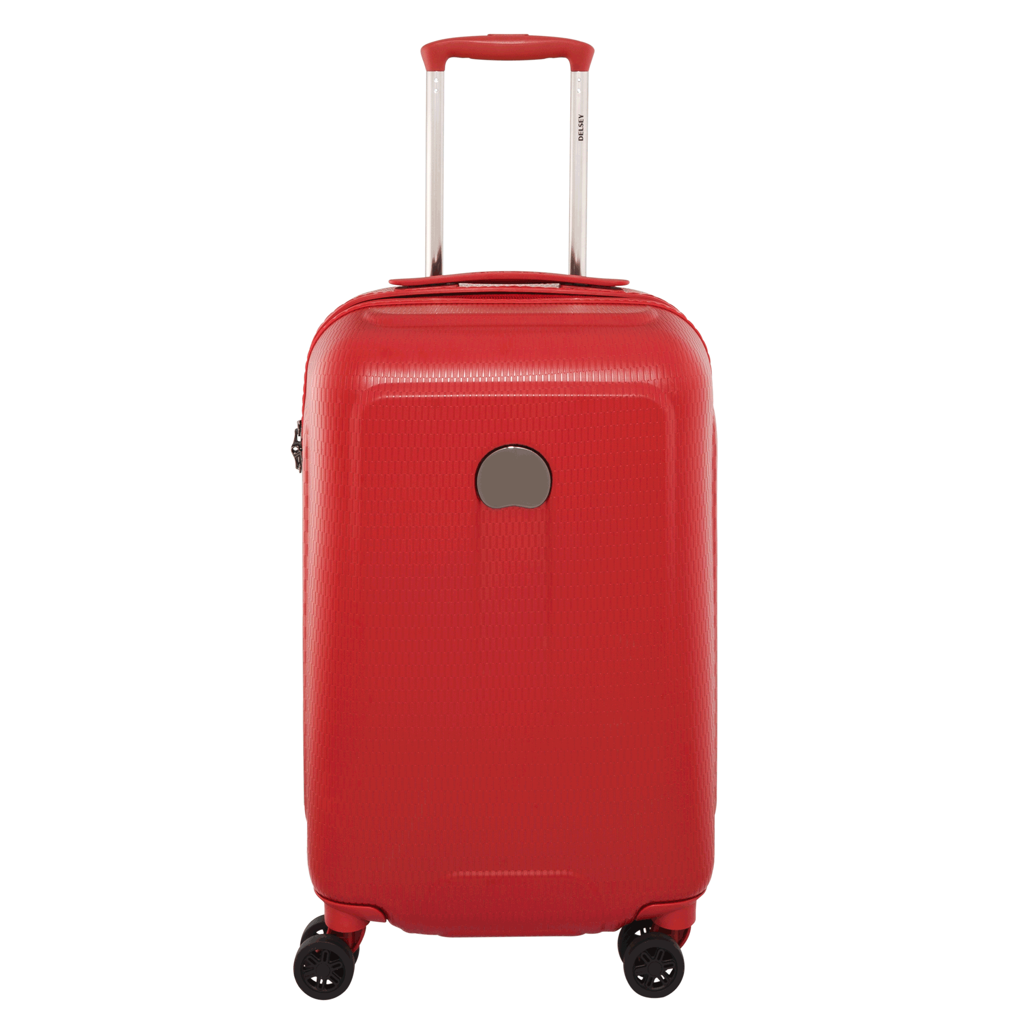 Luggage pink suitcase