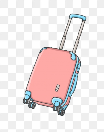 Traveling clipart travel suitcase. Images png format clip