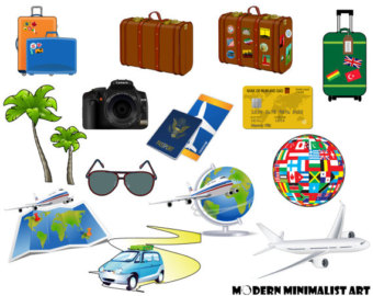 Luggage clipart plane luggage. Free cliparts download clip