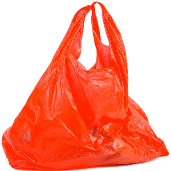 Plastic bag transparent png. Luggage clipart red