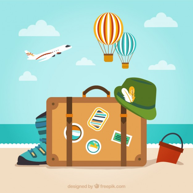 Luggage clipart retirement. Download party invitations travel