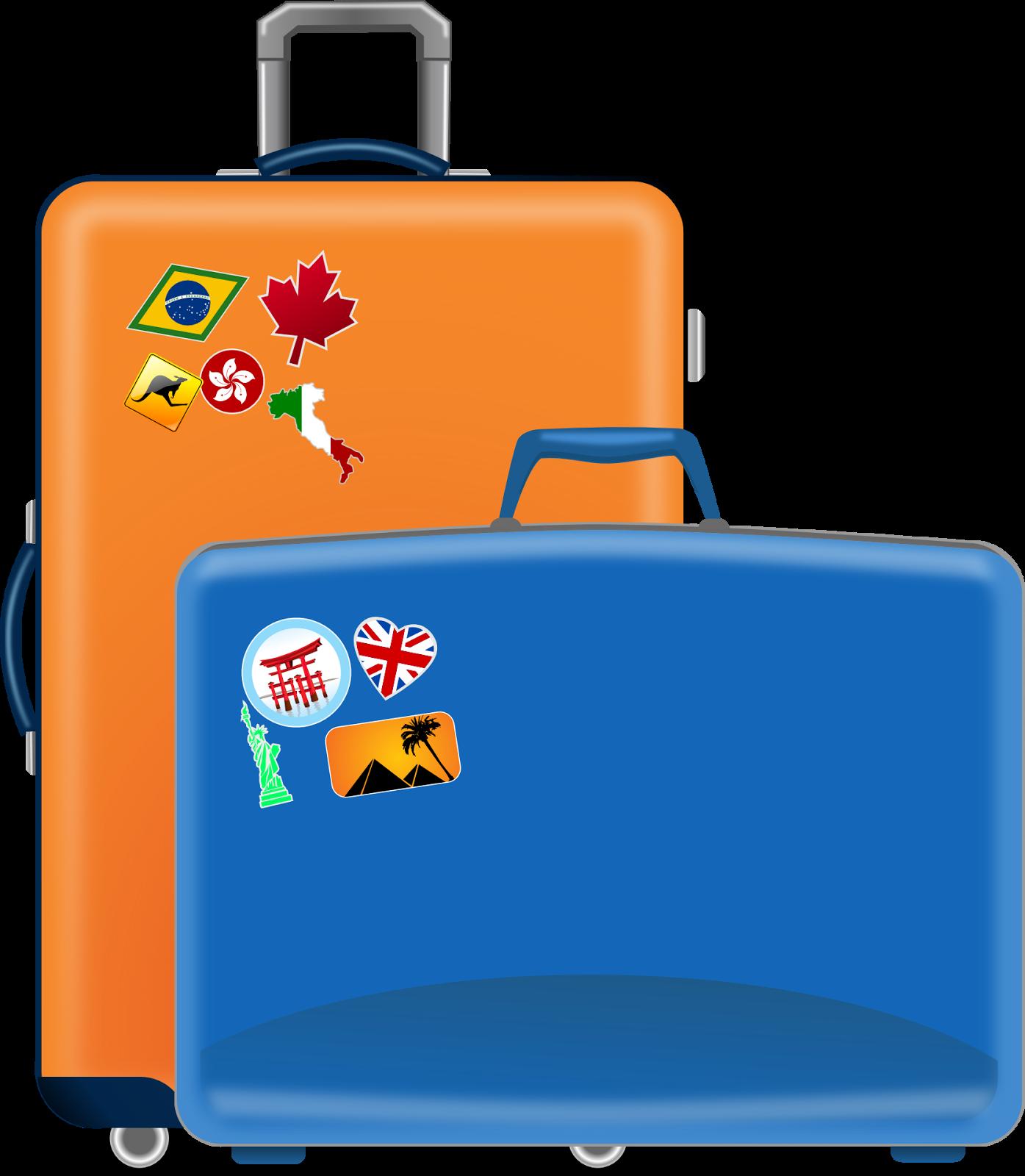 Luggage clipart scrapbook. El tr fico de
