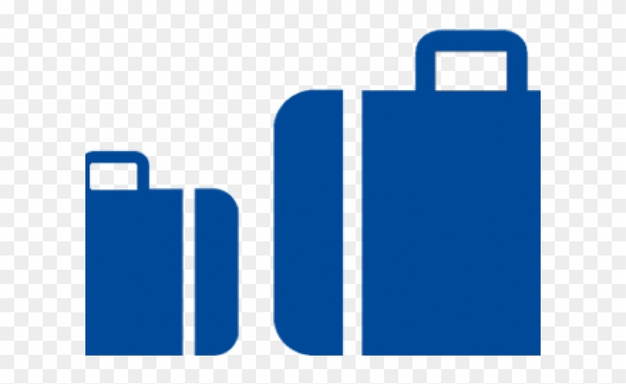 Luggage clipart small suitcase. Png download