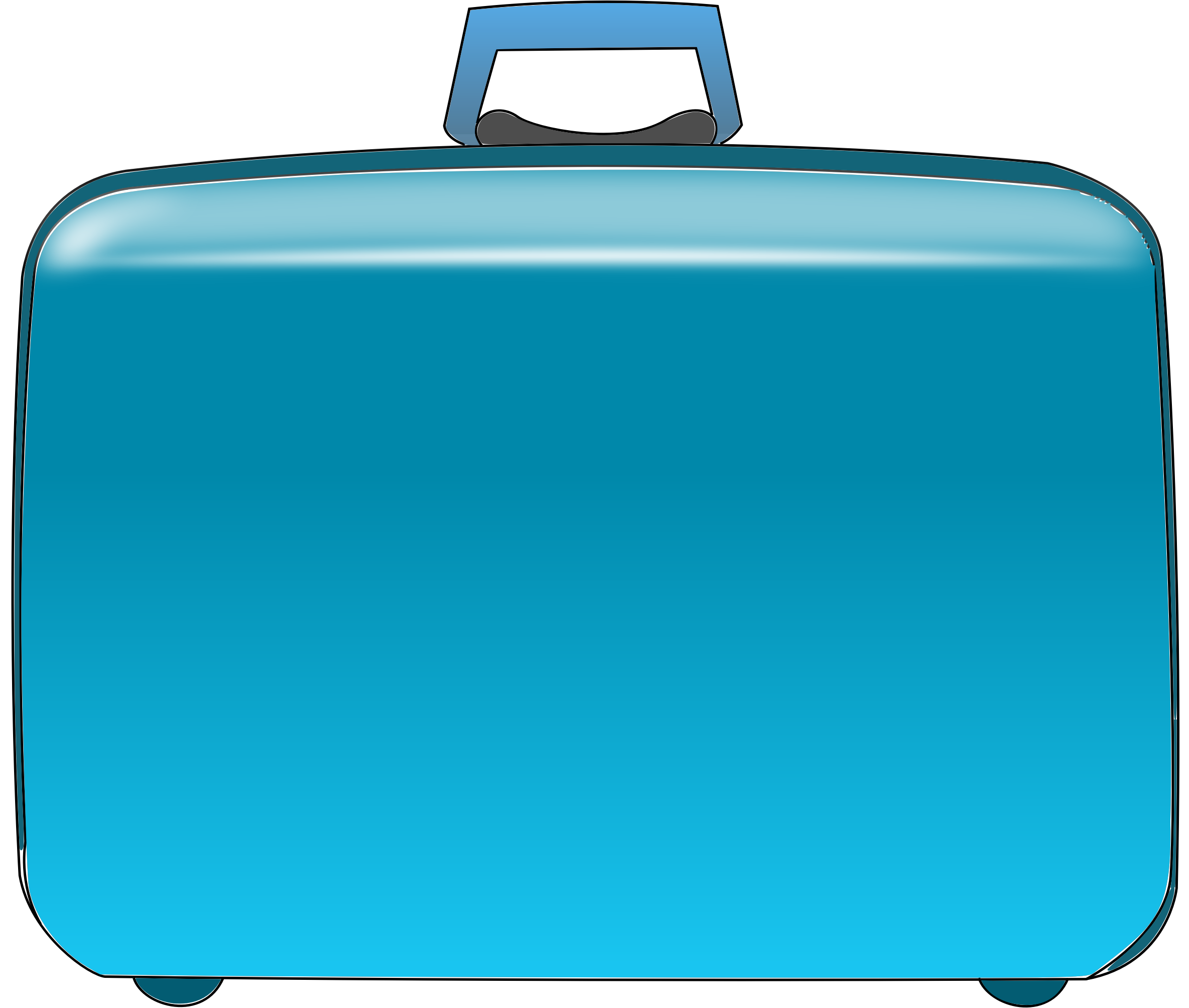 Free clip art bay. Luggage clipart suitcase handle