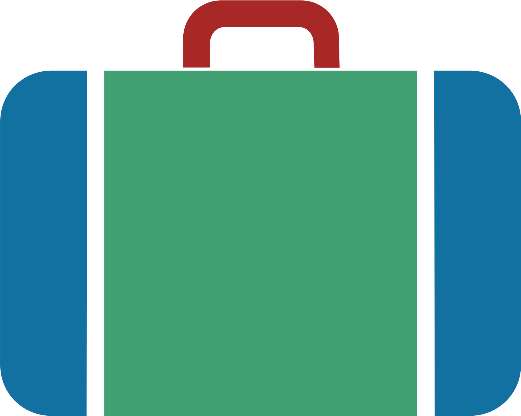 Suitcase icon download on. Luggage clipart svg