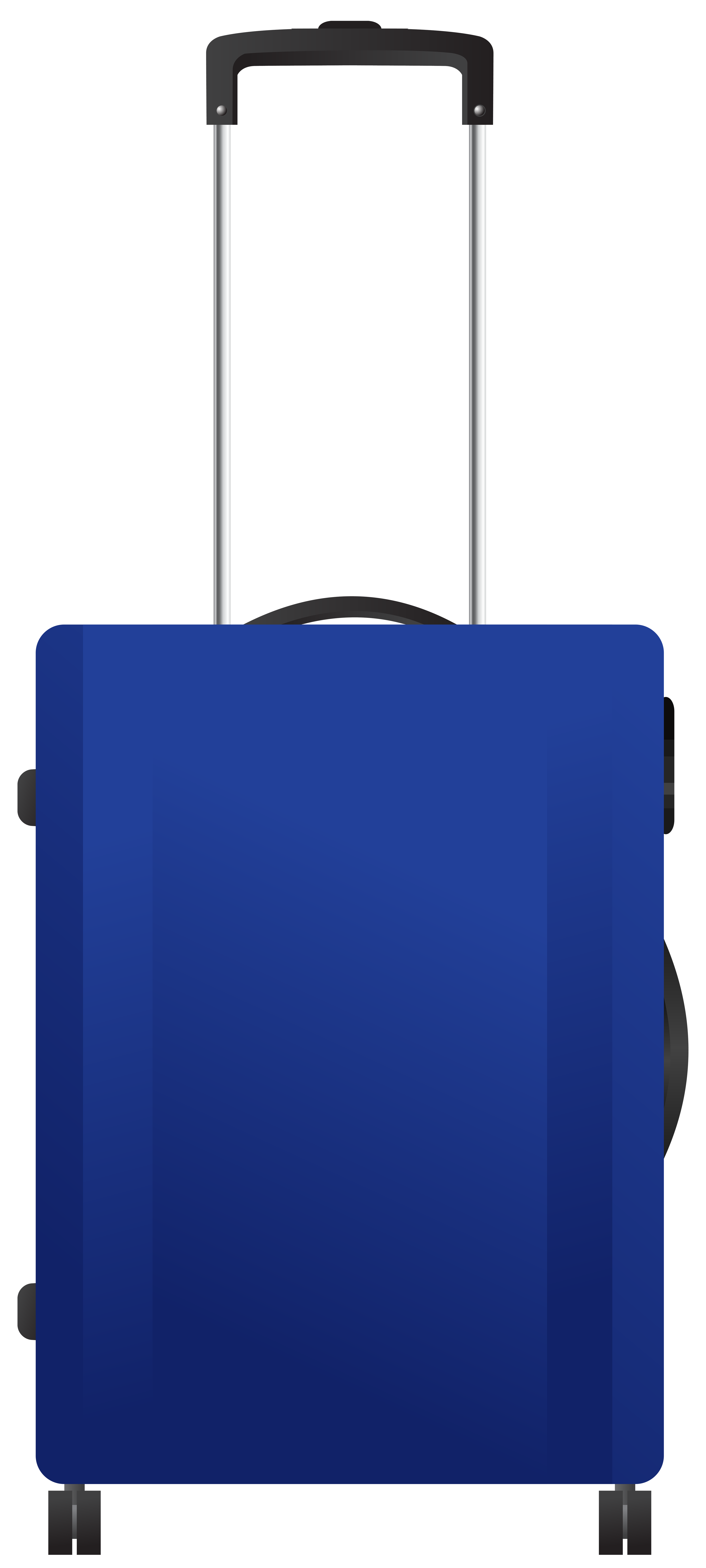 Blue trolley png transparent. Luggage clipart travel bag