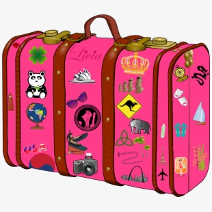 Suitcase free . Luggage clipart travel journal