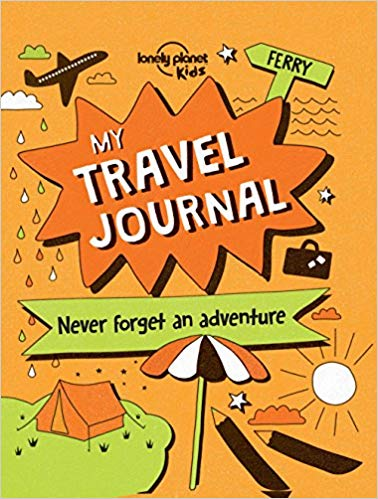 My lonely planet kids. Luggage clipart travel journal