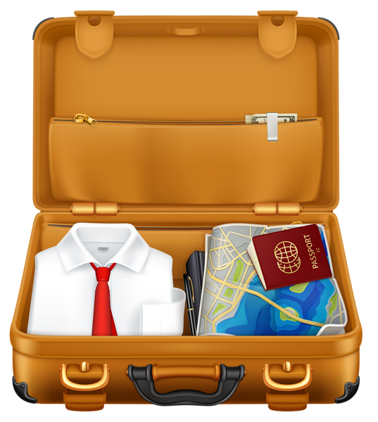 Gallery free pictures . Luggage clipart vaction