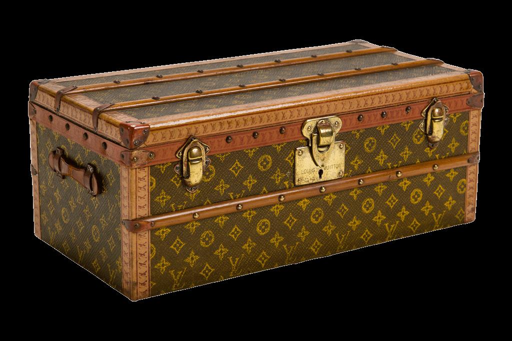 Vintage Cardboard Suitcase transparent PNG - StickPNG