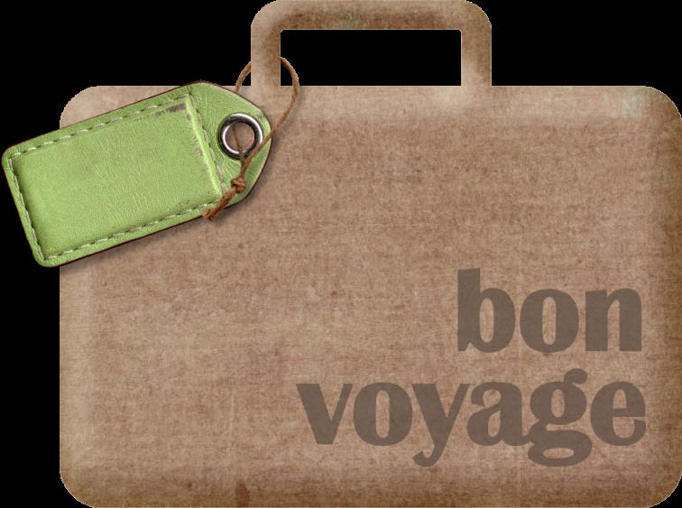 Luggage clipart voyage. Mira bonvoyage suitcase png