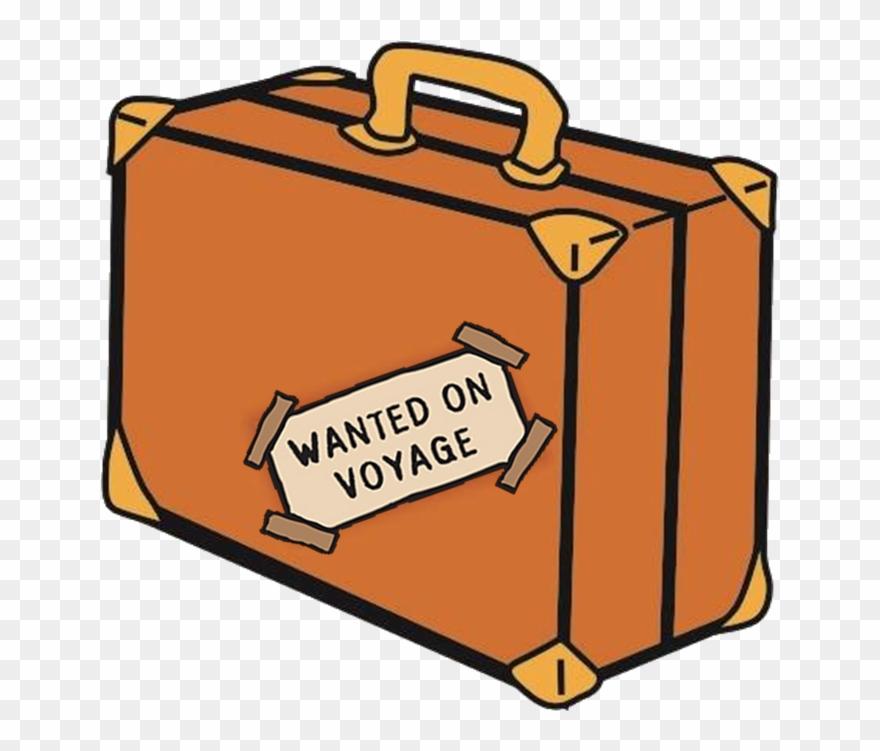 Paddington s suitcase wanted. Luggage clipart voyage