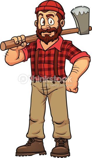 Lumberjack clipart. Cartoon character google search