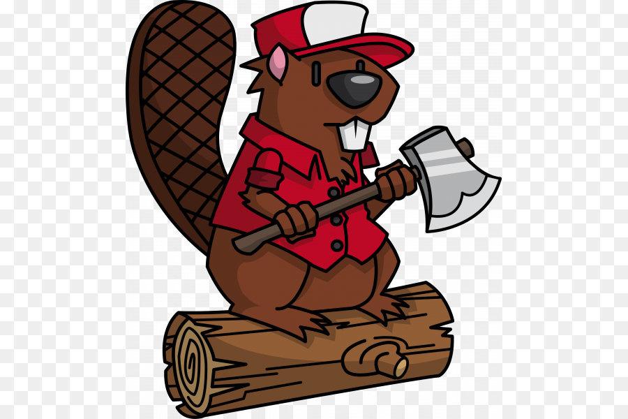 Beaver t shirt clip. Lumberjack clipart
