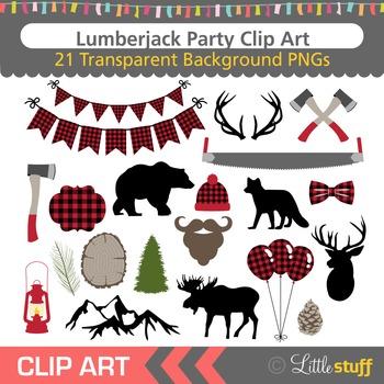 Party clip art woodland. Lumberjack clipart