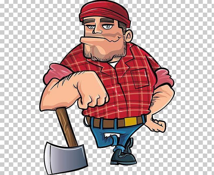 Cartoon png angry man. Lumberjack clipart animated