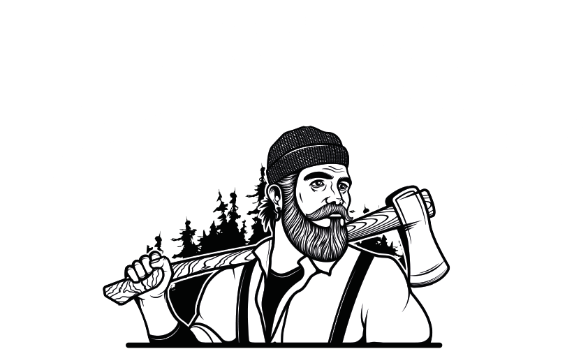 Lumberjack clipart beanie. Lumberjacks wood fired pizza
