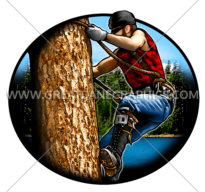 Production ready artwork for. Lumberjack clipart cartoon