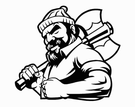 Free cliparts download clip. Lumberjack clipart drawing