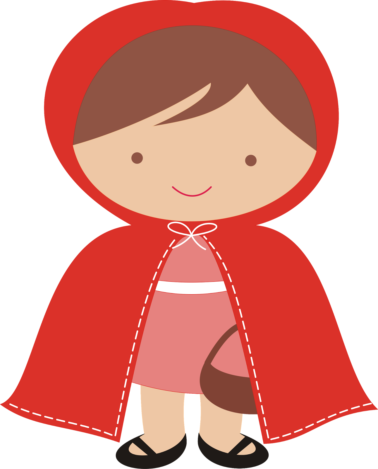 Wolf clipart red riding hood. Silhouette at getdrawings com