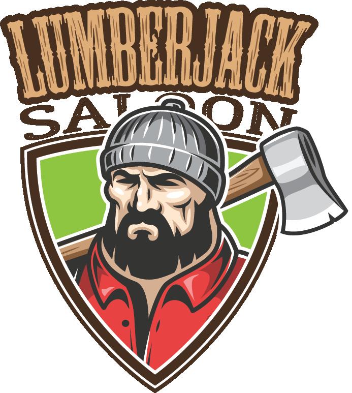 Lumberjack clipart lumberjack beard. Saloon an axe throwing