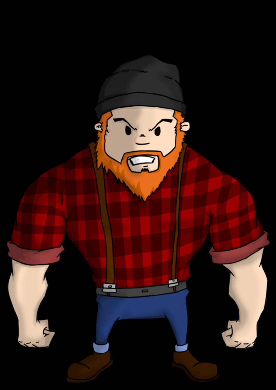 Cartoon . Lumberjack clipart lumberman