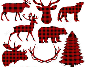 Lumberjack clipart printable. Etsy