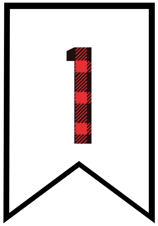 Lumberjack clipart red plaid. Buffalo free printable banner
