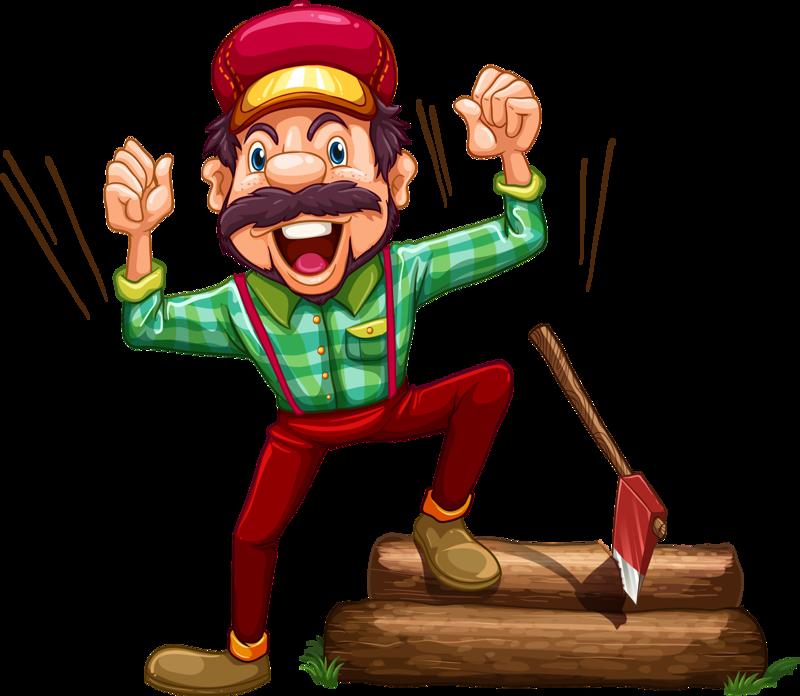 lumberjack clipart theme