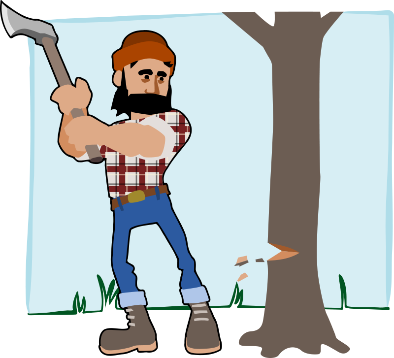 Lumberjack clipart tree removal. Bloomingdale you need a