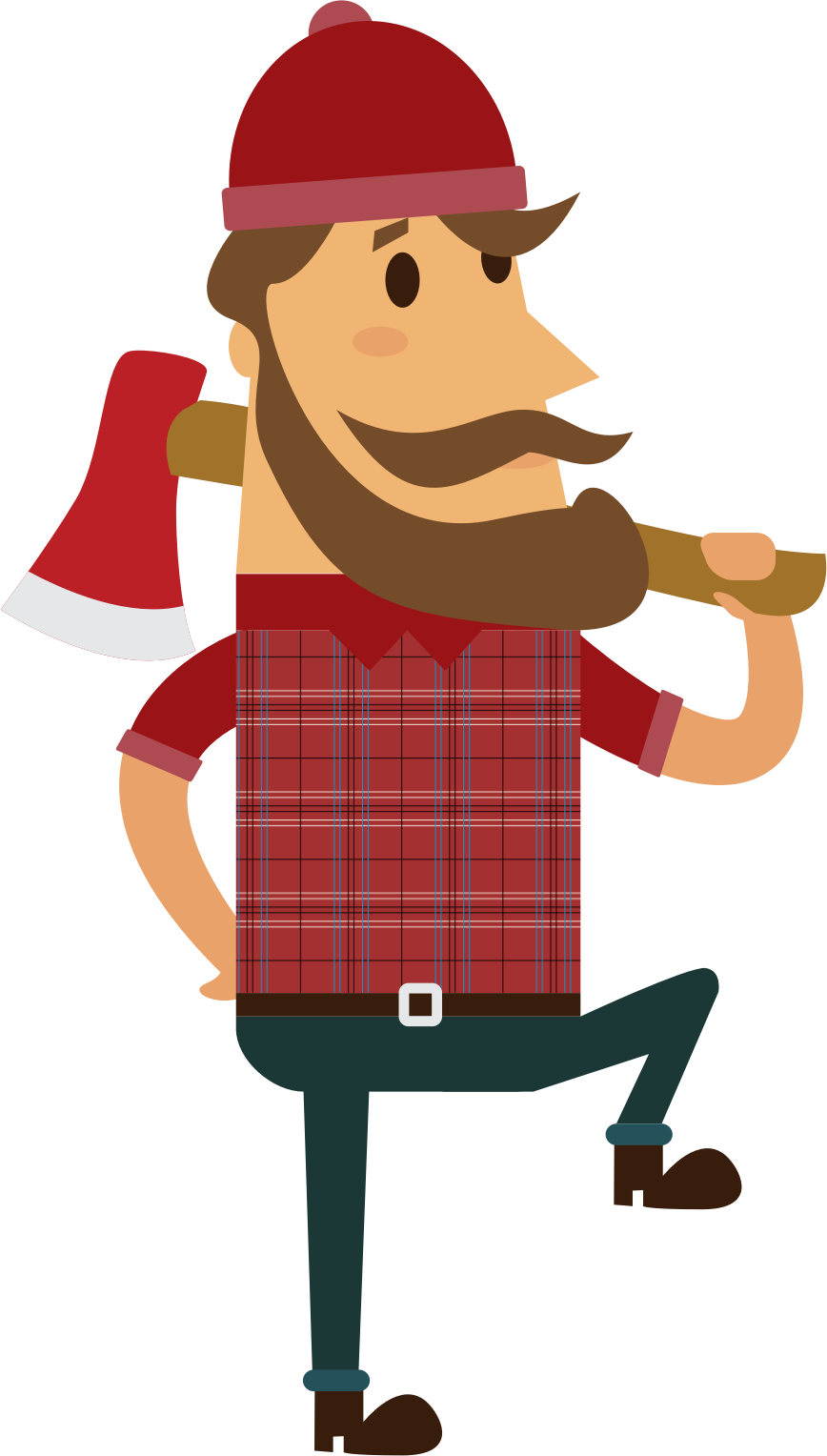 Icons png free and. Lumberjack clipart woodcutter