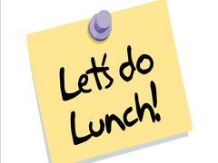 Lunch clipart let's do lunch. Lets