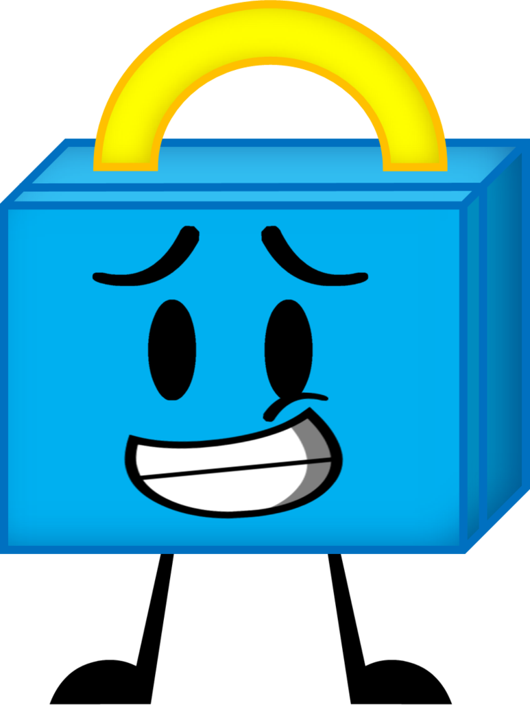 Lunchbox clipart bagged lunch. My bfdi oc box