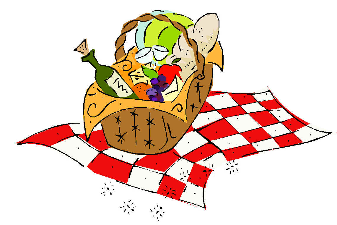 Luncheon clipart lunch outing. Free potluck picnic cliparts