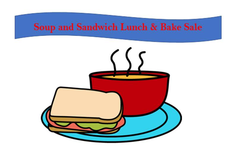 Soup clipart soup lunch. Salad sandwich text transparent