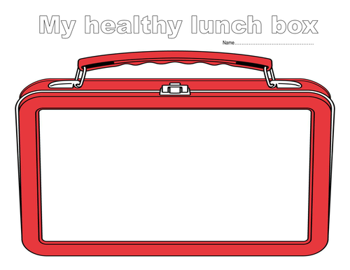 Lunchbox clipart balanced diet. Healthy eating