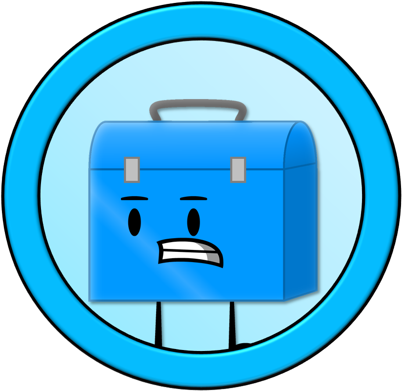 Anthropomorphous adventures by planetbucket. Lunchbox clipart blue