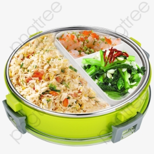 Lunchbox clipart border. Lunch box olivier salad