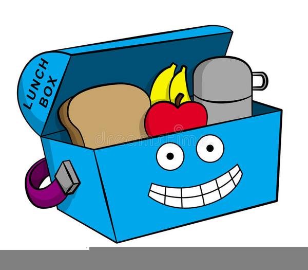 Lunchbox clipart cartoon. Of lunch box free