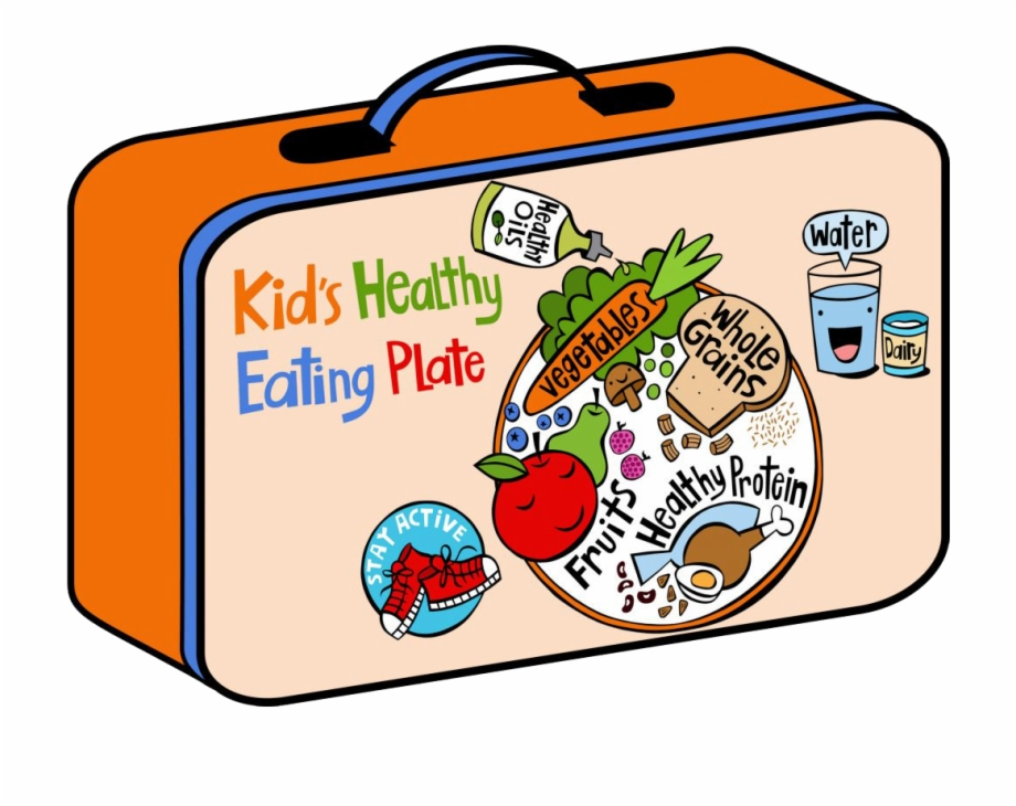 Lunchbox clipart health eating. Lunch box cupcake hatenylo