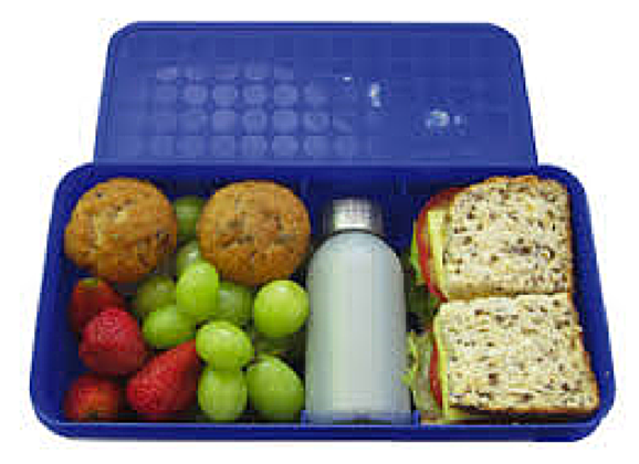 Healthy food transparent . Lunchbox clipart health eating