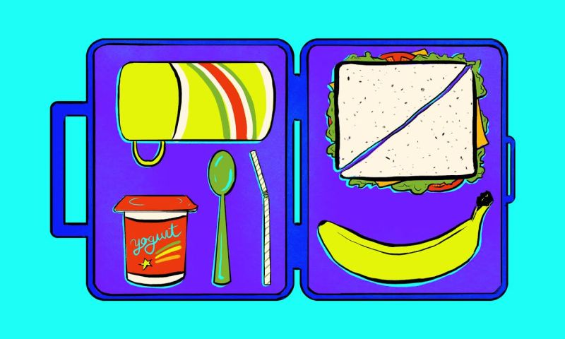 Lunchbox clipart health eating. How to pack a