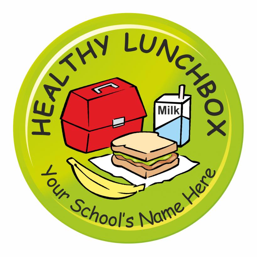 Healthy reward stickers . Lunchbox clipart helathy